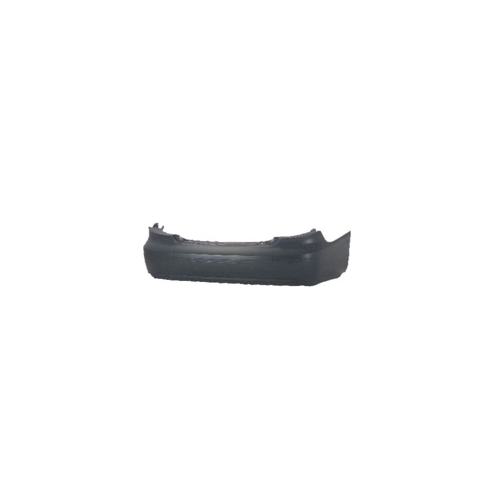 DK3 Ford Taurus Primed Black Replacement Rear Bumper Cover Automotive
