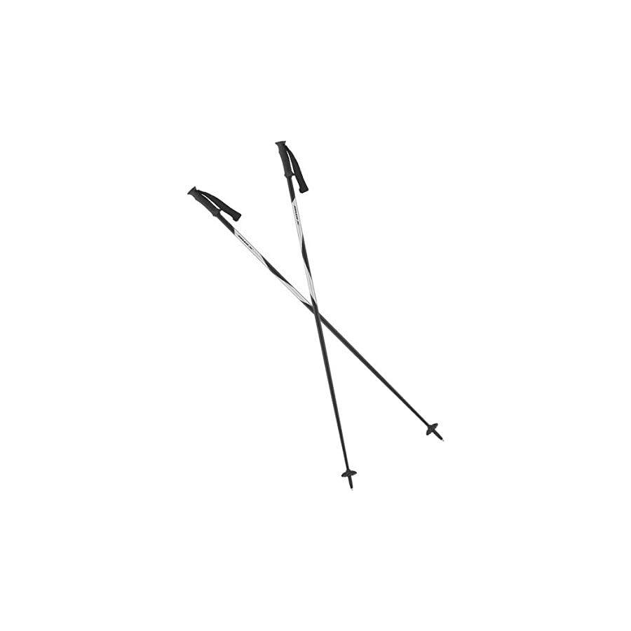 2015 Brand new Swix black/silver Techlite alpine ski poles Swix NEW (130cm)