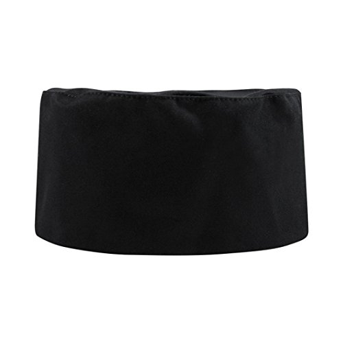 Cheflife modern unisex black chef hat for adults set of 3 (Chef Hats In Bulk compare prices)
