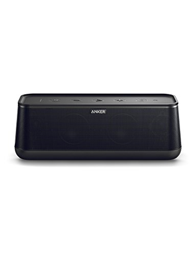 Anker SoundCore Pro+ 25W Bluetooth Speaker with Enhanced Bass and High Definition Sound, 18-Hour Playtime, Water-Resistant, BassUp Technology, Portable Design, Speaker for Home or Backyard by Anker