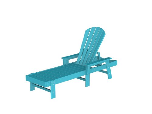 Aruba Recycled Plastic Materials (South Beach Chaise Lounge Frame Color: Aruba)