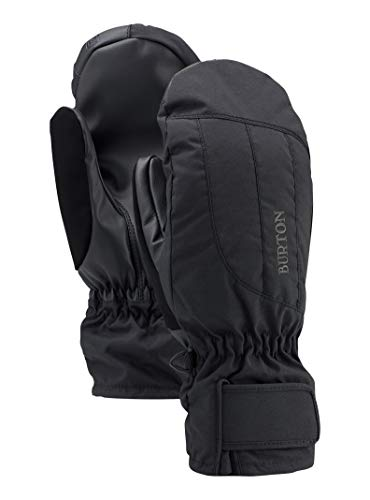 Burton Women's Insulated, Warm, and Waterproof Profile Under Mitten with Touchscreen, True Black, X-Small ()