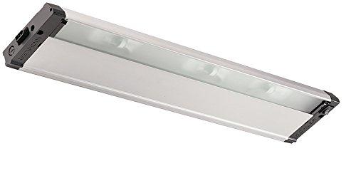 Kichler 4U12X22NIT 4U Series Under Cabinet, 3 Light Xenon 54 Total Watts, Nickel Textured