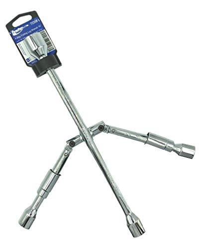 BRUFER 72350 4-Way Folding Lug Wrench 14