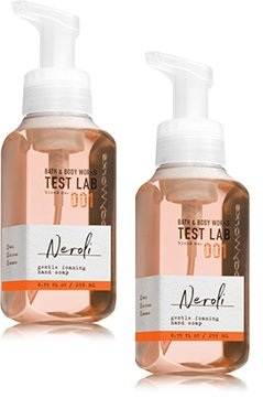 Bath and Body Works 2 Pack Test Lab Blend Nro. 001 Neroli Gentle Foaming Hand Soap 8.75 Oz. ()