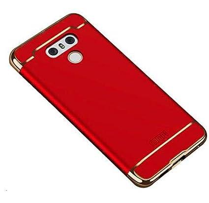 Funda LG G6 - BCIT Carcasa LG G6 con 3 en 1 Desmontable Ultra-Delgado Anti-Arañazos LG G6 Funda Protectora - Rojo