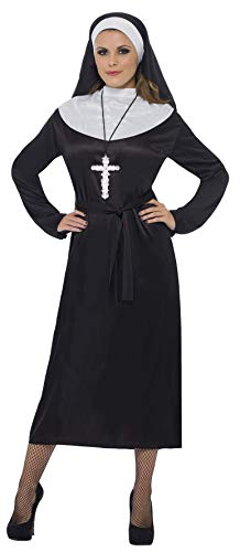 Smiffy'S Classic Nun Adult Costume, Small]()