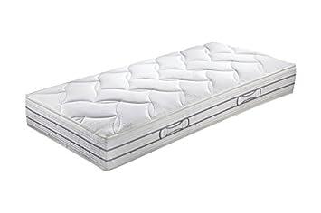 hn8 Duo Luxe Doble de toneladas de colchón de muelles ensacados, Grado de dureza H2, núcleo de Plumas, 120 x 220 cm: Amazon.es: Hogar