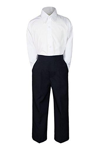 Formal Wedding White Shirt Black