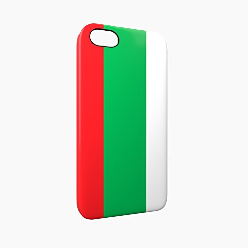 Flag of Bulgaria Glossy Hard Snap-On Protective iPhone 5 / 5S / SE Case Cover