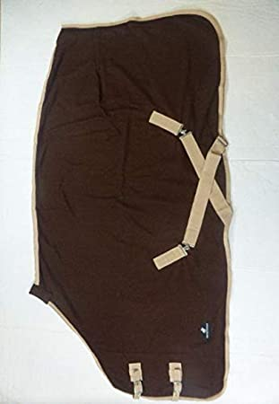 56, Brown//Beige Northern Eq Polar Fleece Rugs Stable Under blanket in and Sizes