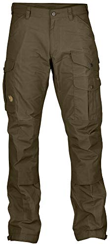 Fjallraven - Men's Vidda Pro Trousers Regular, Dark Olive/Dark Olive, 46