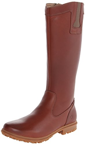 Bogs Women's Pearl Tall Waterproof Leather Boot, Cinnamon