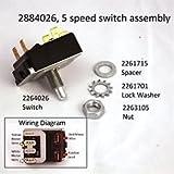 Minn Kota All Terrain / Edge 5 Speed Foot Pedal Switch #2884026