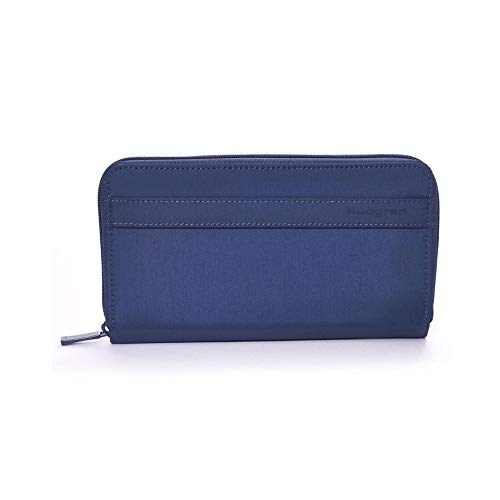 Hedgren Wallet Won Dress Blu Travel RFID ptrqp