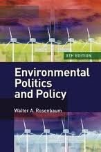 Environmental Politics and Policy 8th (eighth) edition