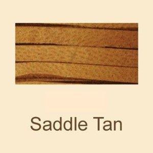 Saddle Tan Deerskin Lace - 3/16