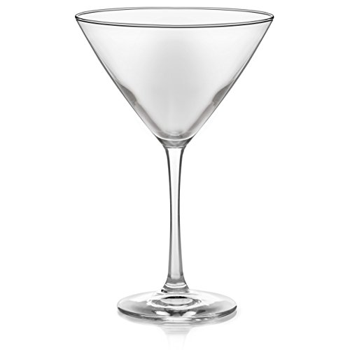 Libbey Vina Martini Glass Set, 6-12 ounce Martini Glasses, 7.38 inch height, Lead-Free by Libbey (Image #1)