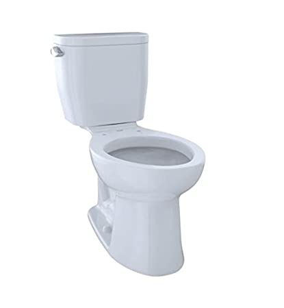 Super Toto Cst244Ef01 Entrada Two Piece Elongated 1 28 Gpf Universal Height Toilet Cotton White Machost Co Dining Chair Design Ideas Machostcouk