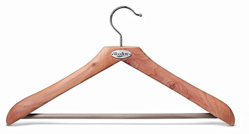 Woodlore Cedar Hangers - Woodlore 84009 Classic Cedar Hanger