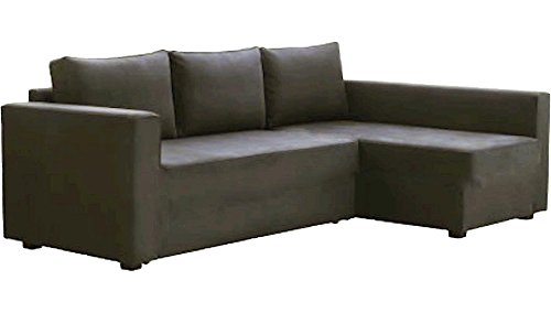 leather sectional sofa bed edmonton with storage chaise the gray cover replacement is slipcover