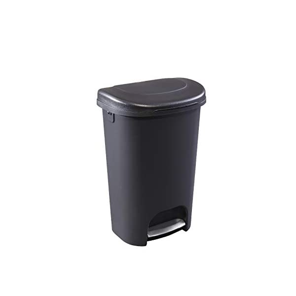 Rubbermaid -Top Lid Trash Can for Home, Kitchen and Bathroom Garbage