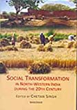 Social Transformation in North-Western India During the Twentieth Century, Singh, Chetan, 817304838X