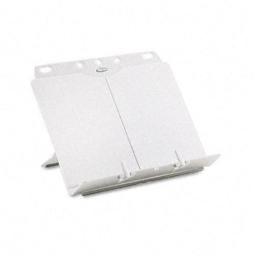 Booklift Platinum Copyholder - Fellowes : BookLift Adjustable Desktop Copyholder, Plastic, Platinum -:- Sold as 2 Packs of - 1 - / - Total of 2 Each