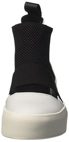 Bikkembergs Pow-Er 878, Zapatillas Altas para Mujer Bianco (White/black)