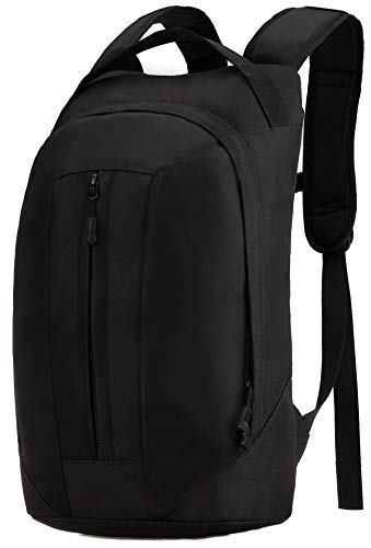 ArcEnCiel Tactical Backpack Outdoor Military Water Resistant Rucksack Hydration Water Backpack Bag Molle Packs -Rain Cover Included, Black