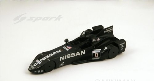 2012 Deltawing - Nissan No. 0 Highcroft Racing LeMans Model Car in 1:18 Scale by Spark