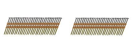 B&C Eagle A3X131/22 Round Head 3-Inch x .131 x 22 Degree Bright Smooth Shank Plastic Collated Framing Nails (500 per box) (3-(Pack))