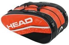 Head Murray Monstercombi Racket Bag、オレンジ/ブラック/ホワイトbyヘッド