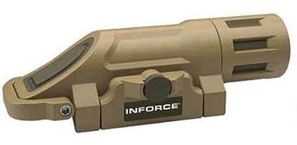 amazon com inforce wmlx multifunction 500 lu weapon mounted light