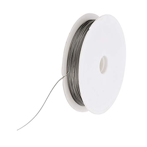0.3mm Silver Tiger Tail Beading Wire Craft Wire 9 Ej