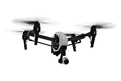DJI Inspire 1 V2.0 Bundle with 2 Controllers, 4 Batteries + Charging Hub (Charge all batteries at the same time) + Go Professional Case + 64GB Extreme Pro MicroSD Card and more...