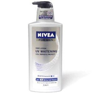 Nivea for Men Body Uv Whitening White Cell Repair & Protect Lotion 5 in 1 400ml