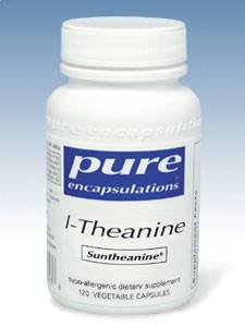 Pures Encapsulations - L-théanine 200 mg 120 vcaps [Health and Beauty]