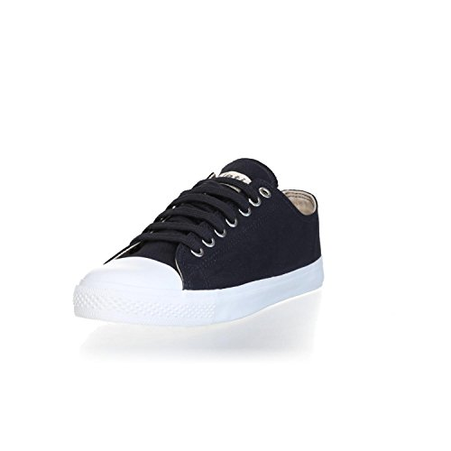 Ethletic Sneaker Vegan LoCut Collection 18 - Farbe Black Navy/White Aus Bio-Baumwolle