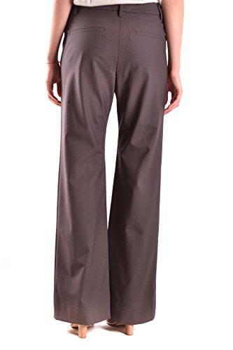 Brunello Cucinelli Pantaloni Donna MCBI053035O Lana Marrone