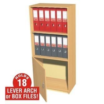 Escuela Direct Slimline - Organizador de Oficina - Armario para 18 archivadores de palanca o caja, Inc. 510 - h1250 mm X w510 mm X 280: Amazon.es: Oficina y ...