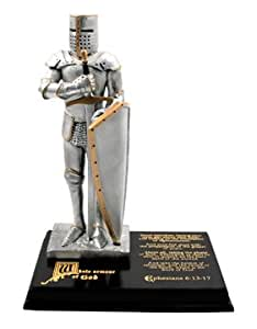 """LDS Polyresin 9"""" Armour of God Statue - Armor of God Statue - Ephesians 6:13-17 - Whole Armor of God"""