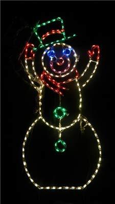 LLD Snowman Waving - Animated - 6'