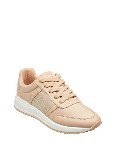 G by GUESS Women's Ryce Logo Low-Top Sneakers Light Pink