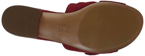 Sandale Mila Femme Naturalizer Sandale Daim Rouge