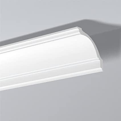 decorativa Moldura para techo 10 metros Cornisa NMC NOMASTYL/® Plus - D