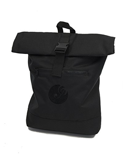 Music Bag for Musicians and Students: Roll Top Backpack with Laptop Sleeve,...