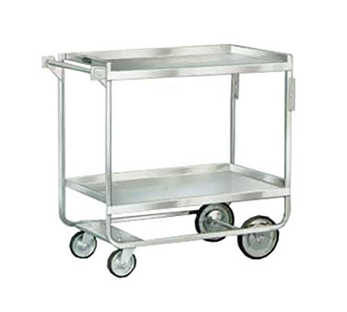 Lakeside 558 NSF Stainless Steel Utility Cart; 700 Lb Capacity, 2 Shelf, 21