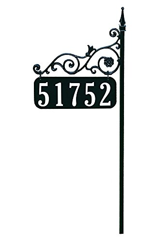 - Address America Yard Sign [Orleans Custom House Address Numbers Plaque Handcrafted 48