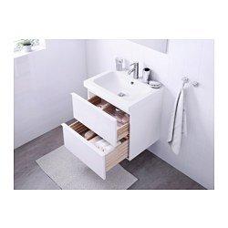Ikea - Mueble para Fregadero con 2 cajones, Color Blanco Brillante ...